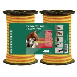 TRAK 10mm ECONOMY oranž (60kg) - 2x200m